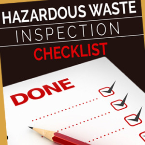 Hazardous Waste Weekly Inspection  Checklist